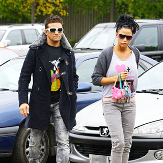 Katie Price and Alex Reid Shopping at Sainsbury's - wenn3026009