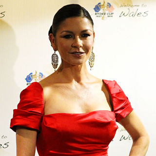 Catherine Zeta-Jones in 'Welcome To Wales' Concert Celebrating The Ryder Cup being Staged in Wales for The First Time