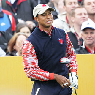 Tiger Woods in The 2010 Ryder Cup - Practice Day