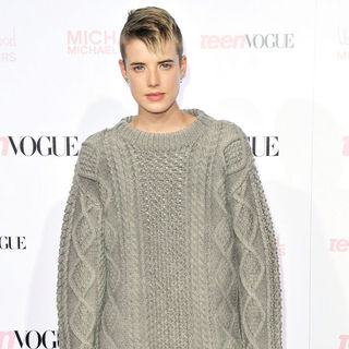 Agyness Deyn in The 8th Annual Teen Vogue Young Hollywood Party - Arrivals