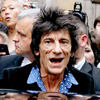 Ronnie Wood in Paris Fashion Week Ready to Wear Spring/Summer 2011 - John Galliano - Outside Arrivals