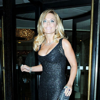 Geri Halliwell in Breast Cancer Care's Fashion Show 2010 - Outside Arrivals