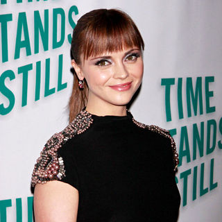 Christina Ricci in Opening Night After Party for The Broadway Production of 'Time Stands Still'