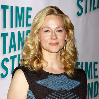Laura Linney in Opening Night After Party for The Broadway Production of 'Time Stands Still'