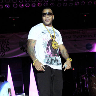 Flo Rida in Think Pink Rocks Concert to Benefit Breast Cancer Research Charities