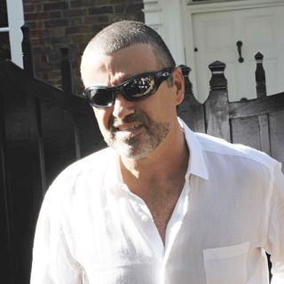 George Michael in George Michael Arrives Back Home After being Released from Prison