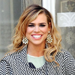 Billie Piper on The Set of 'Secret Diary of A Call Girl' in West London