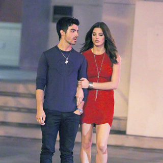 Joe Jonas, Ashley Greene in Joe Jonas and Ashley Greene Taking A Romantic Stroll Together