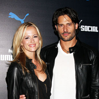 Audra Marie, Joe Manganiello in The PUMA Social Club LA Launch - Arrivals