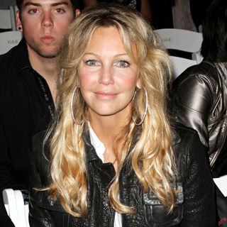 Heather Locklear in Los Angeles Fashion Week Spring/Summer 2011- WTB Collection - Front Row