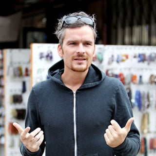 Balthazar Getty Outside The Kings Road Cafe in West Hollywood