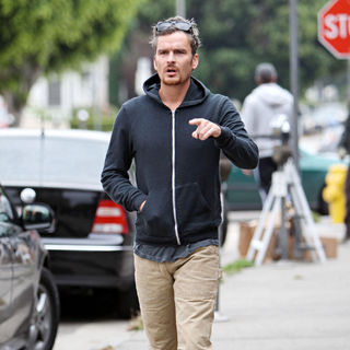 Balthazar Getty in Balthazar Getty Outside The Kings Road Cafe in West Hollywood