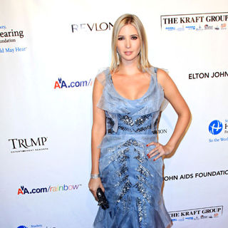 Ivanka Trump in 9th Annual Elton John AIDS Foundation's 'An Enduring Vision' Benefit