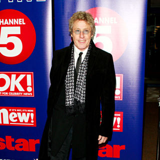 Roger Daltrey in Dinner to Celebrate Northern & Shell's Recent Purchase of Channel 5