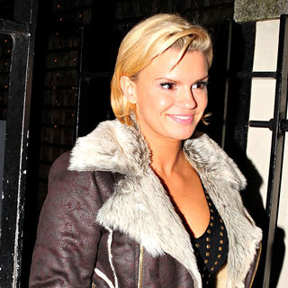 Kerry Katona in Kerry Katona Out and About on The First Day of 'Liverpool Fashion Week'