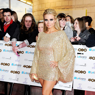 Amanda Harrington in MOBO Awards 2010