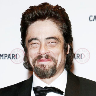 Benicio Del Toro in 'The Red Affair: Campari Calendar 2011' Cocktail Party