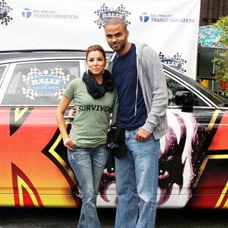 Tony Parker - 'Rally for Kids with Cancer Scavenger Hunt 2010'