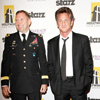 Ken Keen, Sean Penn in 14th Annual Hollywood Awards Gala Presented by Starz