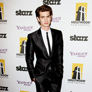 Andrew Garfield in 14th Annual Hollywood Awards Gala Presented by Starz