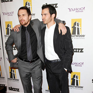 Sam Rockwell, Chris Messina in 14th Annual Hollywood Awards Gala Presented by Starz