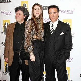 Dominik Garcia-Lorido, Andy Garcia in 14th Annual Hollywood Awards Gala Presented by Starz