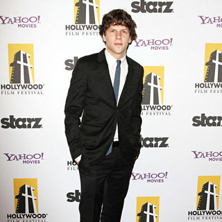 Jesse Eisenberg in 14th Annual Hollywood Awards Gala Presented by Starz