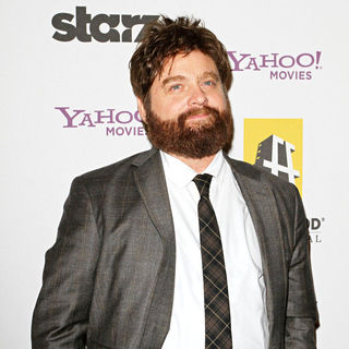 Zach Galifianakis in 14th Annual Hollywood Awards Gala Presented by Starz