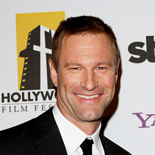 Aaron Eckhart in 14th Annual Hollywood Awards Gala Presented by Starz