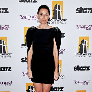 Minnie Driver in 14th Annual Hollywood Awards Gala Presented by Starz