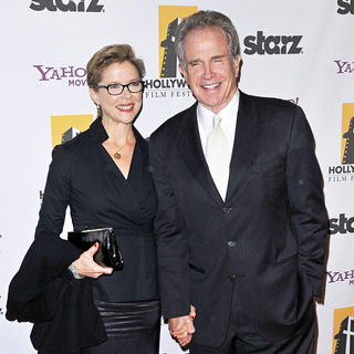 Annette Bening, Warren Beatty in 14th Annual Hollywood Awards Gala Presented by Starz