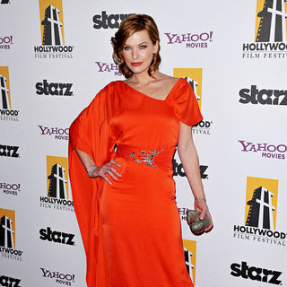 Milla Jovovich in 14th Annual Hollywood Awards Gala Presented by Starz