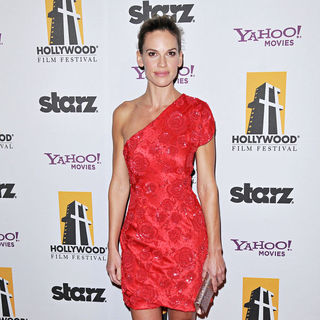 Hilary Swank in 14th Annual Hollywood Awards Gala Presented by Starz