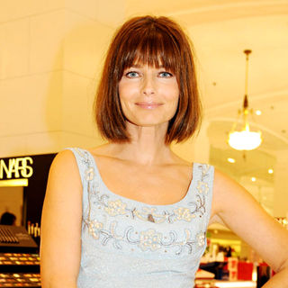 Paulina Porizkova in The Lord & Taylor 'Ultimate Face-Lift' Celebration
