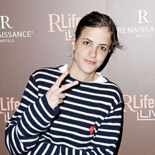 Samantha Ronson in Launch of Renaissance Hotel's RLife Live - Arrivals