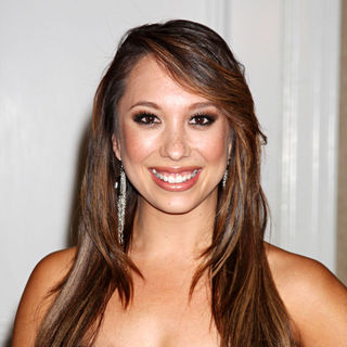 Cheryl Burke in The Peace Over Violence Event