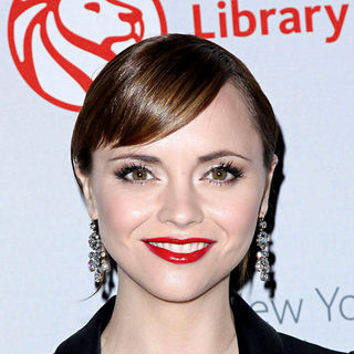 Christina Ricci in The 2010 Library Lions Benefit