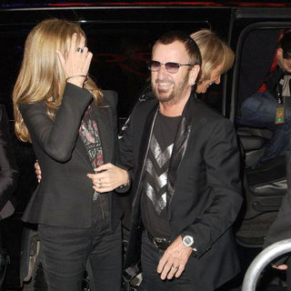"Barbara Bach, Ringo Starr in Barbara Bach and Ringo Starr Host ""Imagine There's No Hunger"" Launching Global Campaign"
