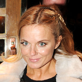Geri Halliwell in Geri Halliwell Leaving The Ivy Restaurant