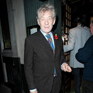 Ian McKellen in Ian McKellen at The Ivy Club