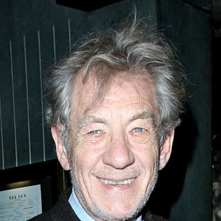 Ian McKellen at The Ivy Club