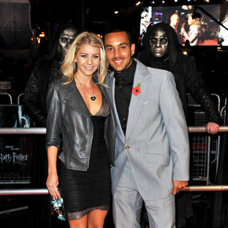 Melanie Slade, Theo Walcott in World Premiere of 'Harry Potter and the Deathly Hallows: Part I' - Arrivals