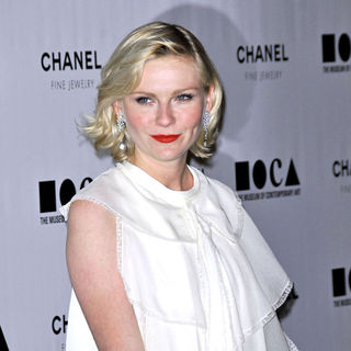 Kirsten Dunst in MOCA's Annual Gala The Artist's Museum Happening - Arrivals
