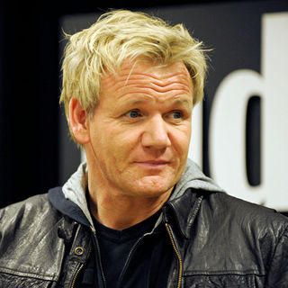 Gordon Ramsay in Gordon Ramsay Autograph Session for His Latest Cookbook 'Gordon Ramsay's World Kitchen'