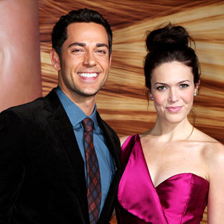 Zachary Levi, Mandy Moore in Disney's 'Tangled' Los Angeles Premiere - Arrivals