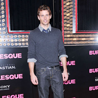 "James Marsden in Los Angeles Premiere of ""Burlesque"""