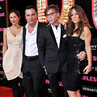 "Jonathan Antin, Steve Antin, Robin Antin in Los Angeles Premiere of ""Burlesque"""