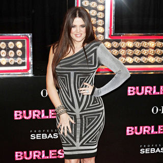 "Khloe Kardashian in Los Angeles Premiere of ""Burlesque"""