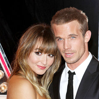 "Dominique Geisendorff, Cam Gigandet in Los Angeles Premiere of ""Burlesque"""
