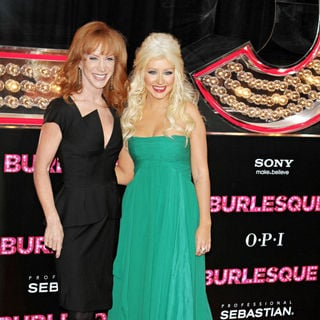 "Kathy Griffin, Christina Aguilera in Los Angeles Premiere of ""Burlesque"""